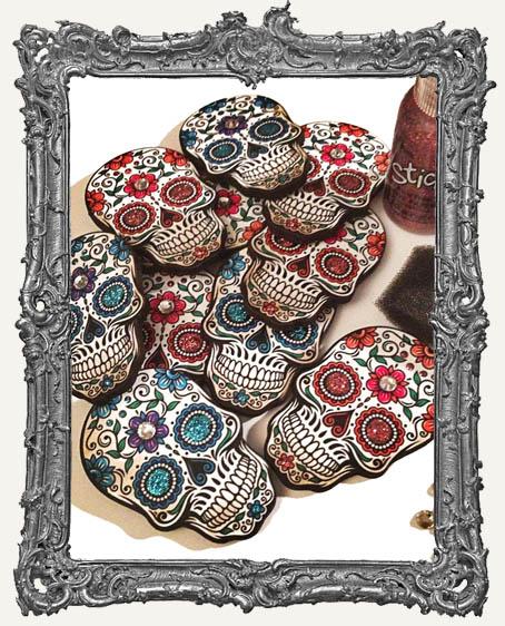 Sugar Skull Magnet KIT - Makes 4