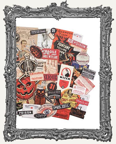 Tim Holtz 2019 Halloween Idea-Ology Halloween Ephemera