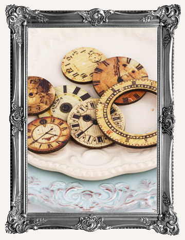 PRIMA - WOOD PIECES, STAMPS, & EMBELLISHMENTS