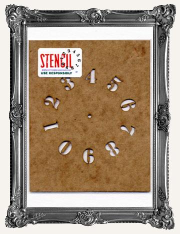 STENCILS - COFFEE BREAK DESIGN