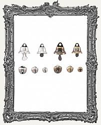 Tim Holtz - Idea-ology - Christmas Tiny Metal Bells 30 Pack
