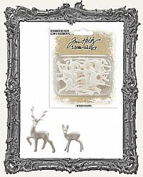 Tim Holtz - Idea-ology - Christmas Resin Decorative Deer