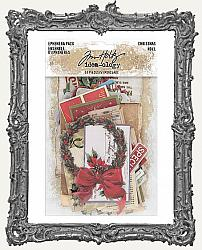 Tim Holtz - Idea-ology - 2019 Christmas Ephemera Pack 51 Per Pkg