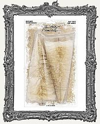 Tim Holtz - Idea-ology - Woodland Half Trees Natural 6.75 Inch 2 Pack