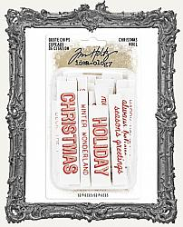 Tim Holtz - Idea-ology - 2019 Christmas Quote Chips