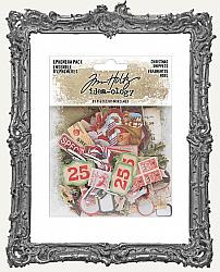 Tim Holtz - Idea-ology - 2019 Mini Christmas SNIPPETS Ephemera