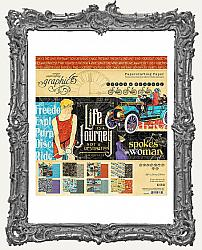 Graphic 45 - Lifes Journey - 8 x 8 Paper Pad