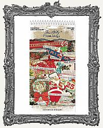 Tim Holtz - Idea-ology - 2019 Christmas Sticker Book