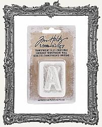 Tim Holtz - Idea-ology - Christmas Transparent Alpha Tiles