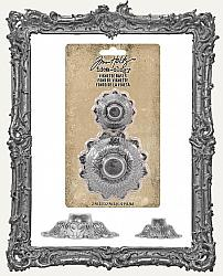 Tim Holtz - Idea-ology - Metal Vignette Bases 2 per Package