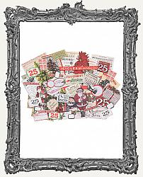 Tim Holtz - Idea-ology - 2018 Christmas Ephemera Pack 58 Per Pkg