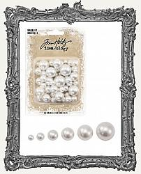 Tim Holtz - Idea-ology - Baubles Undrilled Cream Pearls