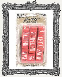 Tim Holtz - Idea-ology - Christmas Quote Chips