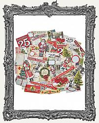 Tim Holtz - Idea-ology - 2018 Mini Christmas SNIPPETS Ephemera
