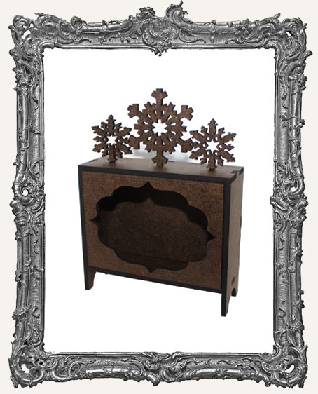 ATC Hutch Shrine Kit - Snowflakes