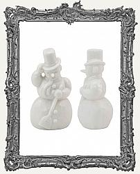 Tim Holtz - Idea-ology - Salvaged Snowmen