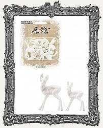 Tim Holtz - Idea-ology - Resin Decorative Deer Package of 12