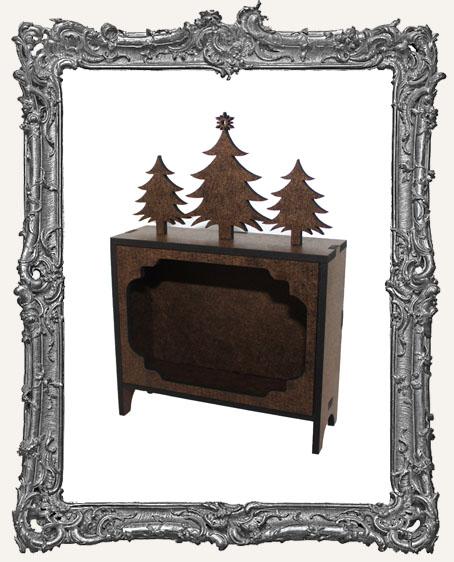 ATC Hutch Shrine Kit - Christmas Trees