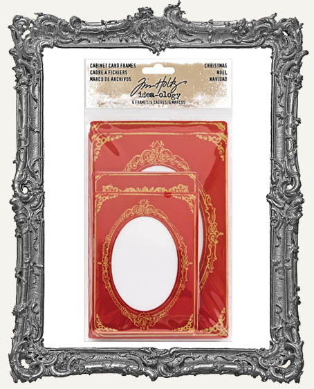 Tim Holtz - Idea-ology - Christmas Cabinet Card Frames