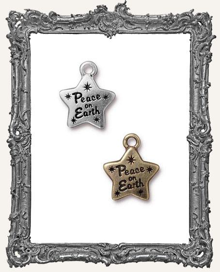 Peace Star Charm