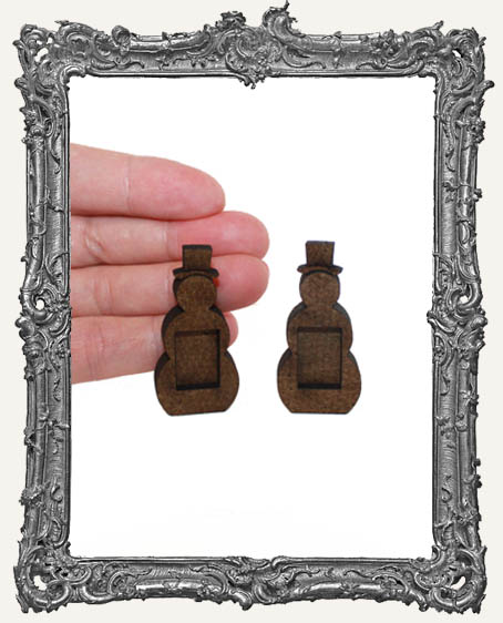TINY Inspiration Fairy Shrine SNOWMEN - Set of TWO