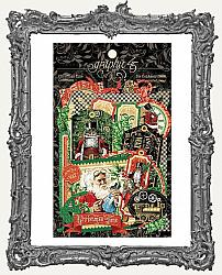 Graphic 45 - Christmas Time Cardstock Die-Cut Assortment