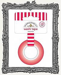 Doodlebug Washi Tape - Christmas Candy Stripes