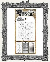 Tim Holtz Mini Layered Stencil Set - Christmas Set 44