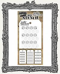 Tim Holtz Mini Layered Stencil Set - Christmas Shifter Set 45