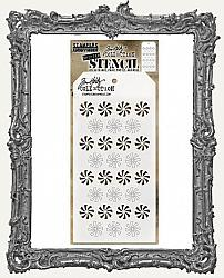 Tim Holtz Layering Stencils - SHIFTER PEPPERMINT