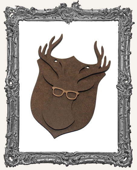 Deer Mount Ornament - Style 1