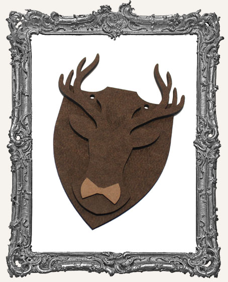 Deer Mount Ornament - Style 3