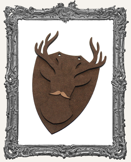 Deer Mount Ornament - Style 2