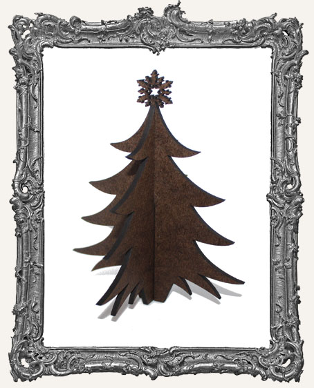 Stand Ups - 3-D Christmas Tree - Fancy