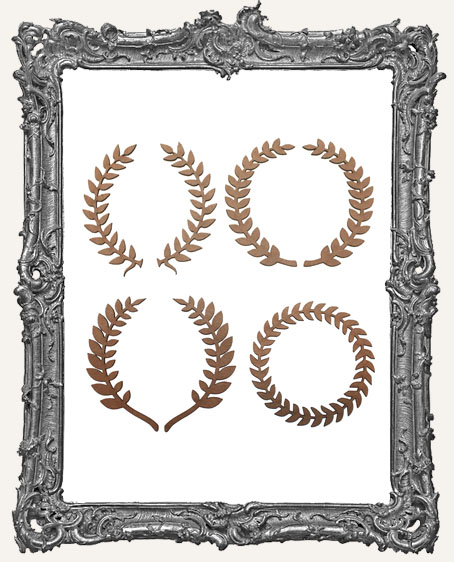 Laurel Wreath Cut-Outs - 7 Pieces