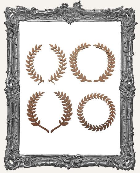 Laurel Wreath Cut-Outs - 7 Pieces