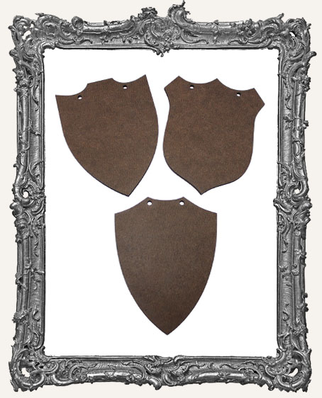 Plaque Ornaments - Set of 3
