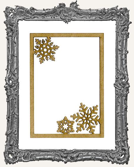 ATC Frame - Snowflakes