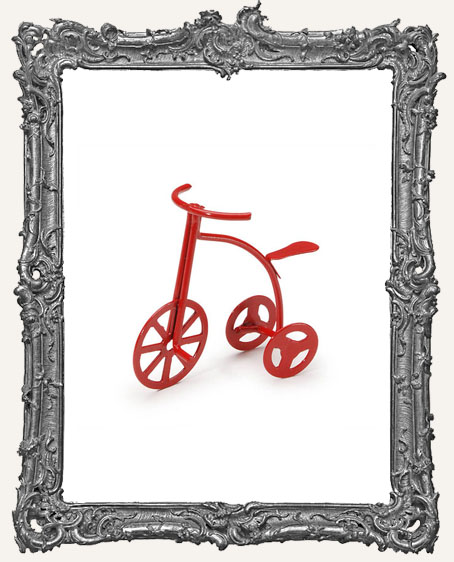 Miniature Red Tricycle