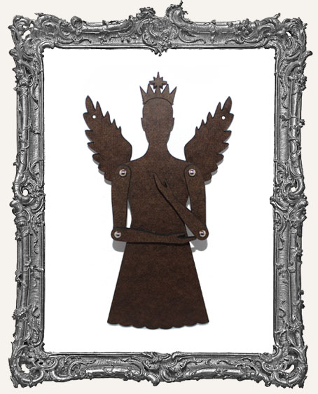 Articulated Angel Ornament - Style 4