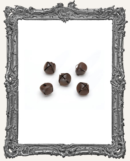 Rusted Jingle Bell - 12mm - 50 pieces