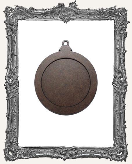 Layered Masonite Ornament - Classic