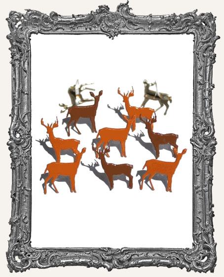 Deer Brads - 12 Piece