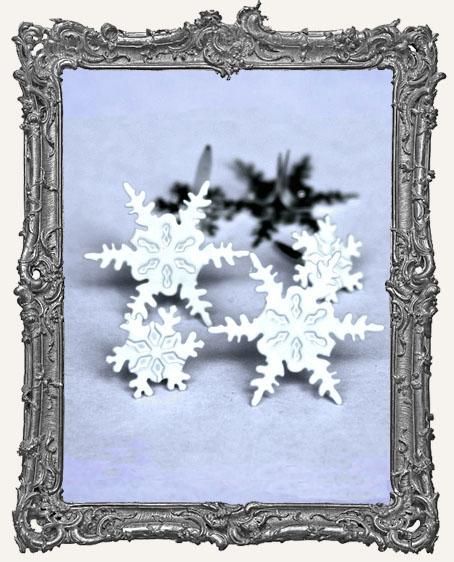 Snowflake Brads - 12 Piece