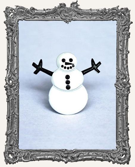 Snowman Brads - 12 Piece