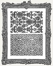 Tim Holtz - Cling Mount Stamps - Tapestry