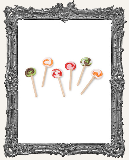Miniature - Lollipop Twists - 1 inch - 6 pieces