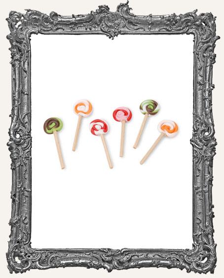 Miniature - Lollipop Twists - 1 inch - 6 pieces
