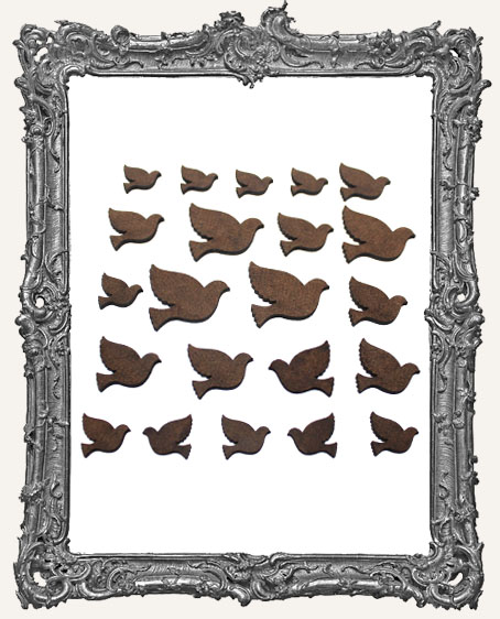 Peace Dove Cut-Outs - 22 Pieces