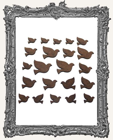 Peace Dove Cut-Outs - 22 Pieces